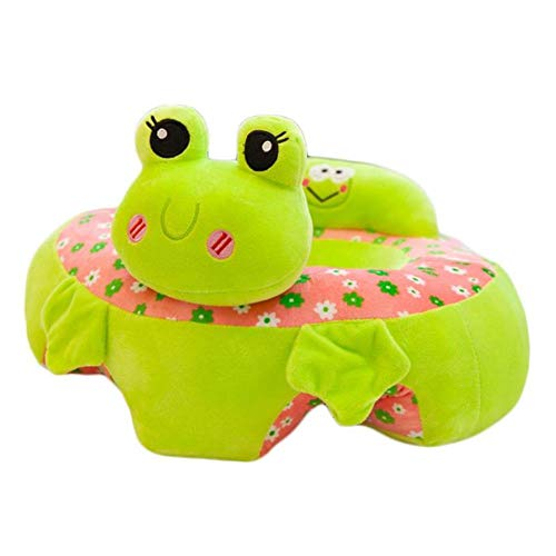 Great Deal! Baby Plush Seat Portable Sofa Support Cute Animal Support Chair Learning to Sit Soft Toy...