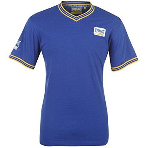 Everlast Herren V-Neck T-Shirt, royal (XXL)