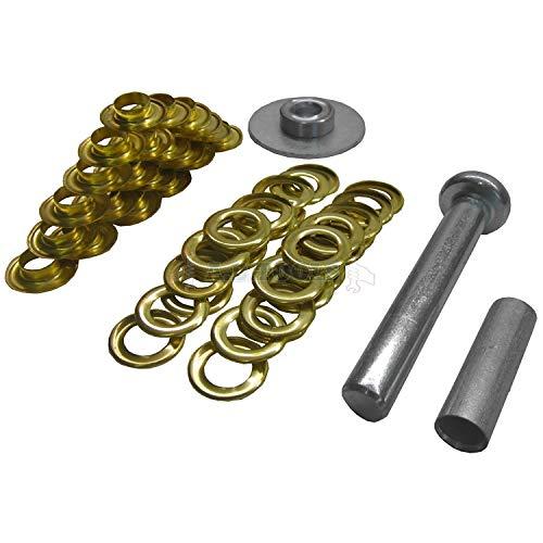 ToolzoneTL022 Lona kit de reparación, Dorado
