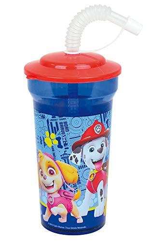 Fun House 005776 - Vaso con pajita para niños