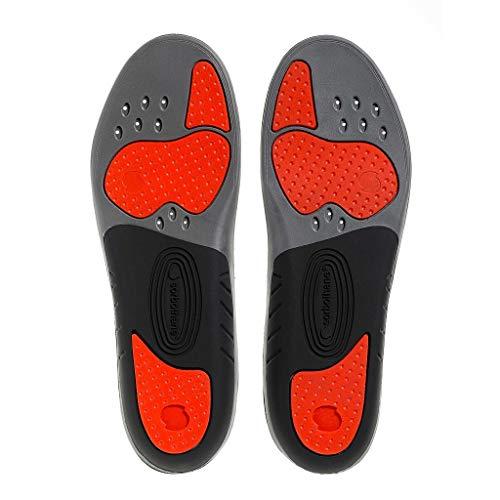 Sorbothane Sorbo Pro Einlegesohle, mehr Größen, stoßabsorbierendes Schuhsohlen für Fußballschuhe, Laufen oder Gehen, Pronationskontrolle Footbeds für Fersensporn, Heel Support und Shin Splints