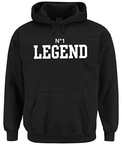 Certified Freak Nr. 1 Legend Hoodie Black-L