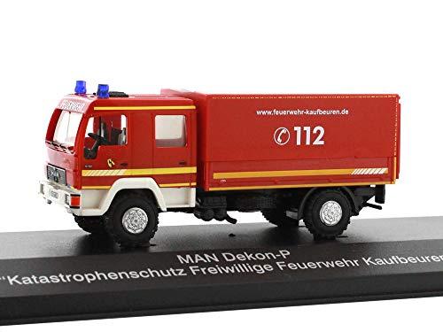 Reitze 68039 Rietze Man Dekon-P Katastrophenschutz Fw Kaufbeuren 1:87 H0, Mehrfarbig