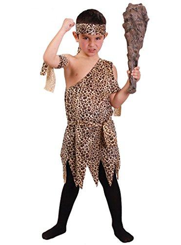 Disfraz de troglodita para niño - 4-6 años