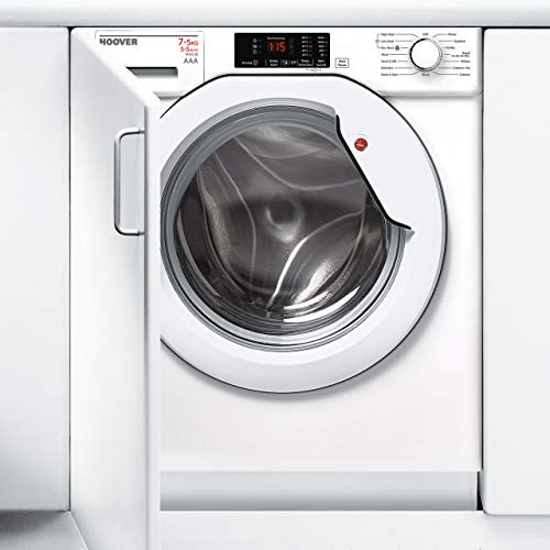 Hoover HBWD7514DA-80 A Rated 1400 Spin 7kg+5kg Integrated Washer Dryer in White