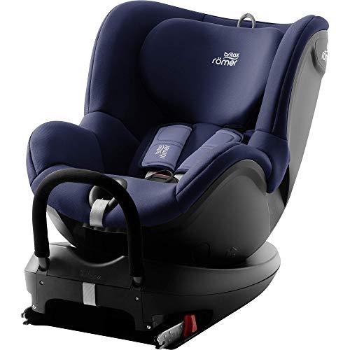 Britax Römer Reboarder Kindersitz 0 - 4 Jahre I 0 - 18 kg I DUALFIX 2 R Autositz Drehbar Isofix Gruppe 0+/1 I Moonlight Blue