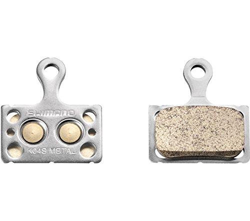 SHIMANO K04s Metall Scheibenbremsbelag, grau, Einheitsgröße