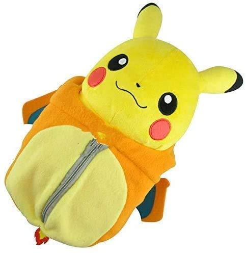 LINQ Pokemon Plüsch Puppe Pokemon Pokémon Pokemon Plüsch Puppenspielzeug Schlafsack Pikachu (Farbe: Standard) Qianmianyuan (Color : Default)