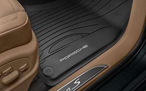 Lemio - Porsche Macan Allwetter-Fußmatten-Set 95B04480031 (schwarz)