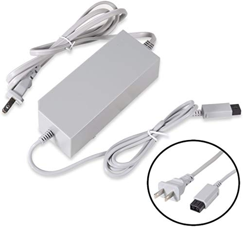 Wii Power Supply, 12V 3.7A AC Adapter Power Cord Replacement for Wii...