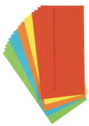 60 (3x 20Stk) farbige Briefumschläge Din lang Kuvert
