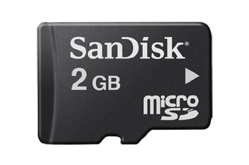 SanDisk 2 Go Carte mémoire microSD SDSDQ-002G-FFP