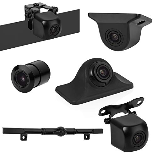 BOYO VISION VTK601HD - Universal HD Backup Camera with Multiple Mounting Options (6-in-1 Camera System)