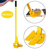 TUFFIOM 44-Inch Pallet Buster Tool with Extended Padded Handle & Free Nail...