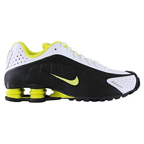 Nike Herren Shox R4 Sneaker Schwarz 43