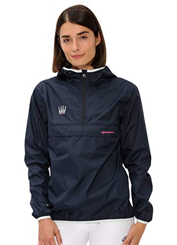 SPOOKS Damen Jacke, leichte Damenjacke mit Kapuze, Herbstjacke - Kaya Rain Jacket Navy S