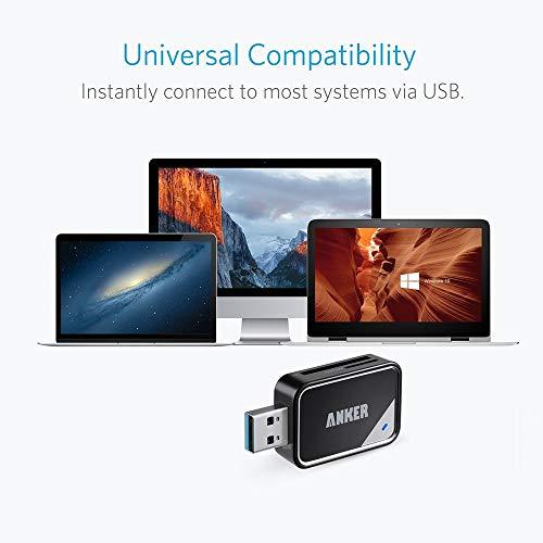 Anker2-in-1USB3.0ポータブルカードリーダー【microSDXC/microSDHC/microSD/MMC/RS-MMC/UHS-Iカード用】