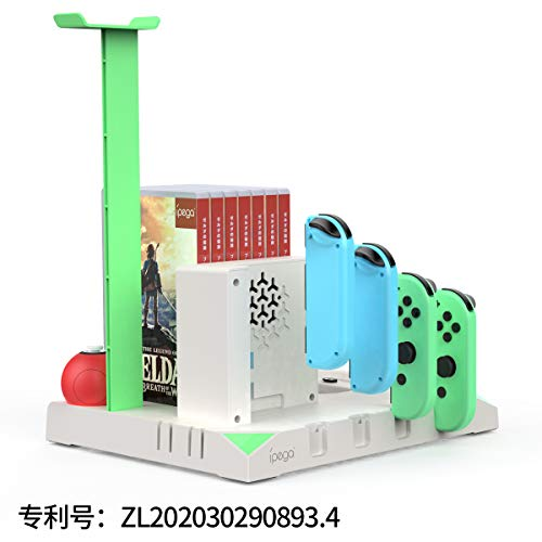 Pega switch multi-function charging base can charg 4 joy-cn With Fan Cooling function