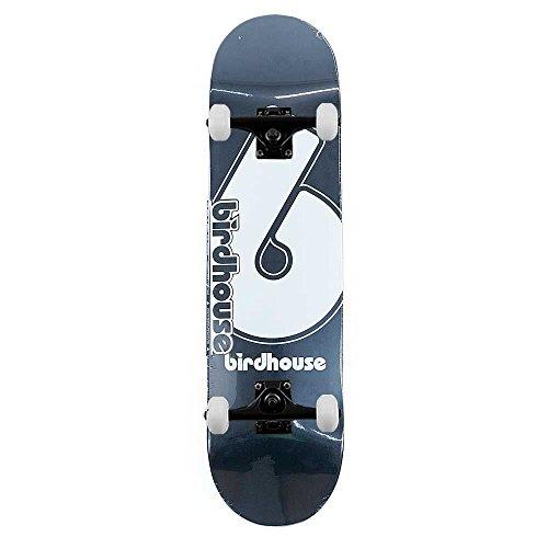 Birdhouse Skateboards logo Deck Giant B complete skateboard nero 21cm