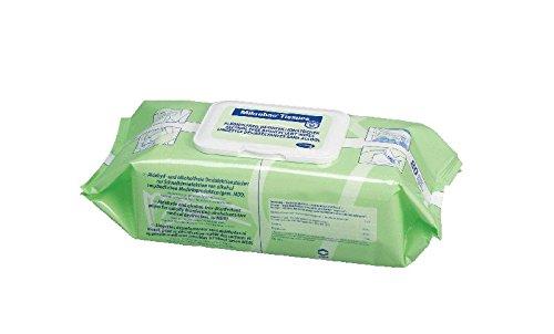 Hartmann Mikrobac Tissues 6x 80 Desinfektionstücher für die Schnelldesinfektion