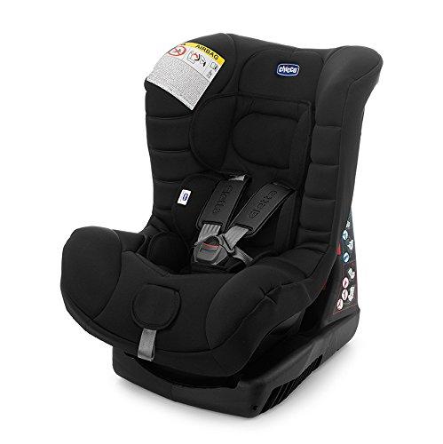Chicco 79409 Eletta Comfort Seggiolino Auto, Nero