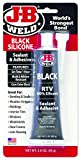 J-B Weld 31319 RTV Silicone Sealant and Adhesive - Black - 3 oz.