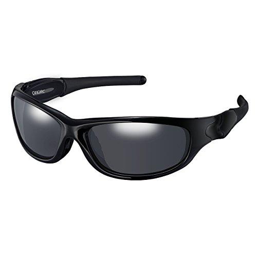 OMORC Polarized Sports Sunglasses,100% UV Protection, TR90...