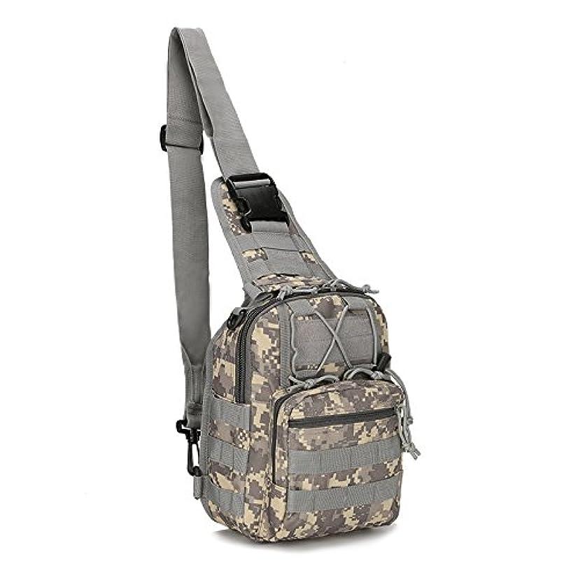 チューリップフロー強調する戦術ギアバッグモール釣りハイキング狩猟バッグスポーツバッグ胸ボディスリングシングルショルダー戦術バックパック