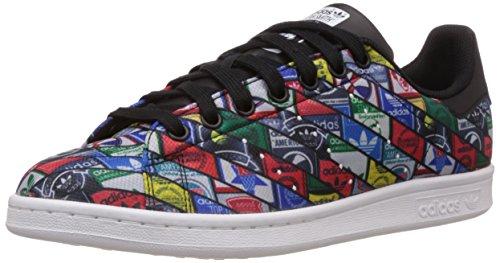 adidas Originals, Stan Smith, Sneakers, Unisex - Adulto, Bianco (Footwear White/Core White/Green), 40 EU