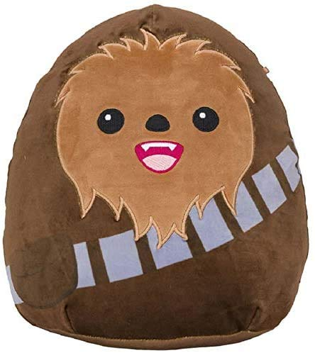 Party of 7 Squishmallows Star Wars 20 inch XL Plush Pillow,Birthday Gifts for Kids (Chewbacca)