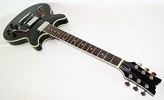 Cherrystone 4260180881585 Semi Acoustic Jazz/Blues E-Gitarre BK