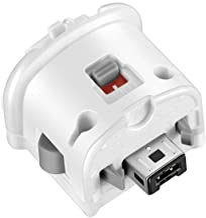 NC Wii Motion Plus Adapter-Sensor Accelerator for Nintendo Remote Controller (White 1 pcs)