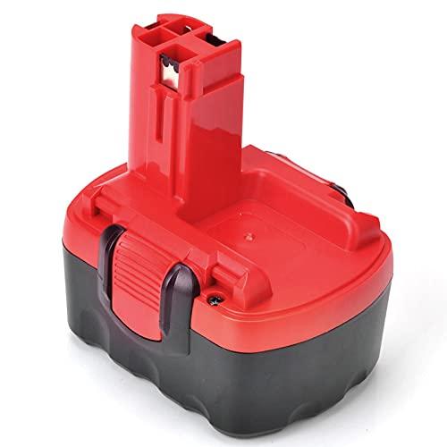 Topbatt 14.4V 3.0Ah para Bosch Batería de repuesto Ni-MH BAT038 BAT040 BAT041 BAT140 BAT159 2607335533 2607335275 2607335685 PSR 14.4 13614 13614-2G 15614