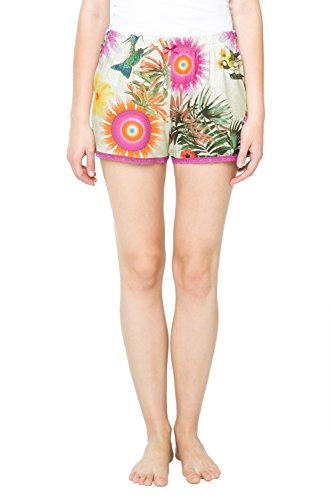 Desigual 61NL0P1 Pantalones de Pijama, Violeta (Lila Flandes 3048), 40 para Mujer
