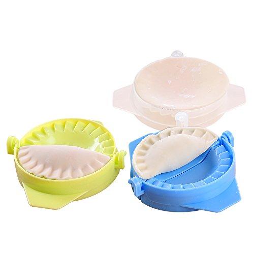vevice fabricant de boule de masse Handbuch boule de masse de moules de Plastique handpresse pie-form raviolis moule 3-pack