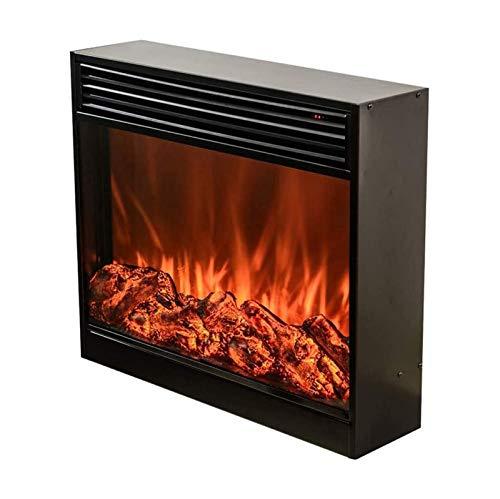 DGYAXIN Chimenea de calefacción Decorativa incorporada, Estufa de calefacción empotrada, termostato a Distancia, protección contra el sobrecalentamiento, Efecto de Llama Real
