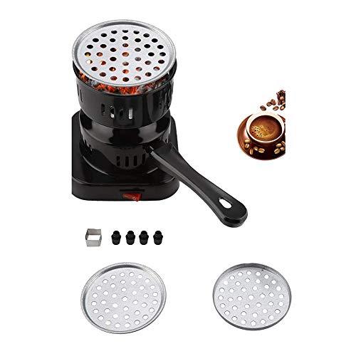 木炭ヒーター、電気石炭木炭スターターバーナー800 wカーボンホットプレートストーブバーナー木炭ヒーターティーコーヒー、220 v