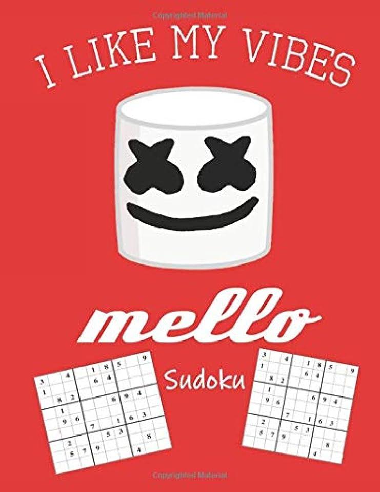 先例投資皮I Like My Vibes Mello Sudoku: Hard Sudoku Games 200 Different Puzzles | Ages 8+ | Learn Achieve Grow (Mello Out With Sudoku)