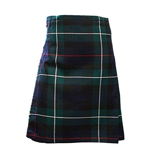 Heritage of Scotland Scottish Highland Poly Viscose Tartan Deluxe Boys Kilt 5 Tartán Disponible Nuevo