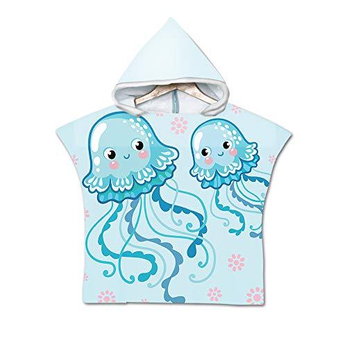Handdoek met capuchon, badhanddoeken met capuchon voor baby's, peuters - Babyhanddoek Perfect kraamcadeau voor jongens en meisjes,E