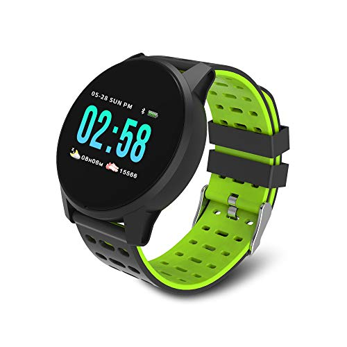 Redlemon Smartwatch Sport Bluetooth Elite con Pantalla Táctil a Color, Resistente al Agua, 3 Correas Intercambiables, Notificaciones de Mensajería y Redes Sociales, Podómetro, Funciones de Salud y aún Más