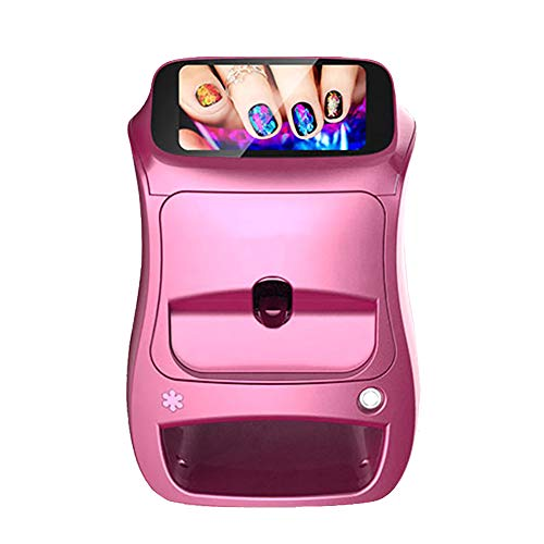 3D Fast Digital Nail Art Printer Intelligent Nail Painting Machine with Touch Screen 10S Painting Dryer Support Wifi/DIY Business First Choice