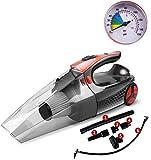 SANON Hand Nass- und Trocken Multifunktionale Vier-in-one High-Power-Luftpumpe Staubsauger (Farbe: schwarz) LIUH WTZ012