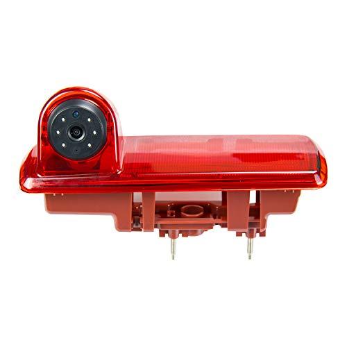 Cámara de visión trasera integrada en la tercera luz de freno Transporter cámara específica del vehículo para Talento/ NV300/ Traffic/ Primastar/ Vivaro B/ Trafic 2015-2019