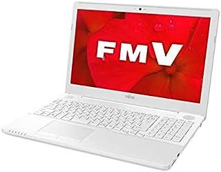 富士通 ノートパソコン FMV LIFEBOOK AH44/D 15.6インチ Ryzen 7 SSD 256GB 4GBメモリ Microsoft Office 2019 Personal搭載 FMVA44DWK-J242RD1V (整備済み品)