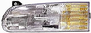 Winnebago Chieftain 1998-2001 RV Motorhome Left (Driver) Replacement Front Headlight with Bulbs