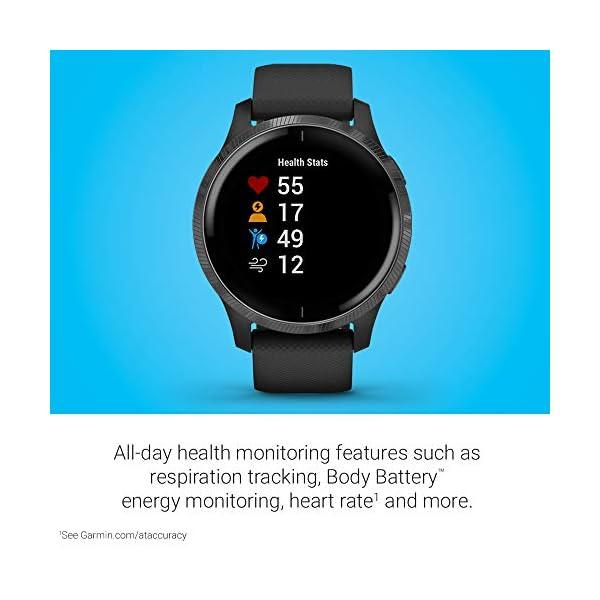 Garmin Venu, GPS Smartwatch with Bright Touchscreen Display