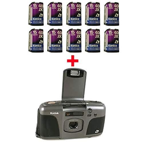 10 Rolls 400 15 APS Film + FREE Kodak Nexia Advantix Camera Flash