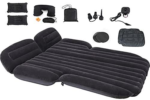 Icelus Luftmatratze aufblasbare SUV Auto Matratze mit Pumpe Luftbett Bewegliche Dickere Luftbett Auto Matratze für aufblasbares Bett Air Bett für Reisen Camping Outdoor