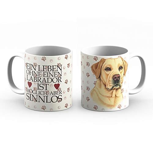 Labrador Tasse mit Spruch, Tasse Hund und Frauchen, Animal Crossing-Becher – Für Dich/Lustige Texte/Tasse Weihnachten/Personalisierte Tasse/Kaffeetasse Groß
